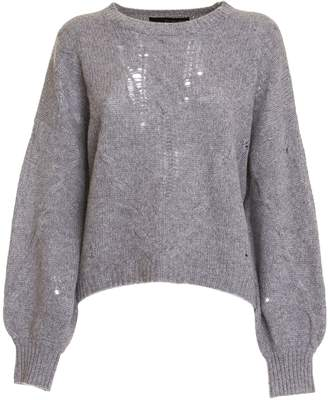 360 Sweater 360cashmere Lea Sweater In Grey