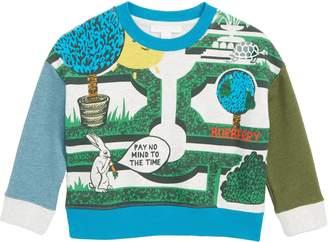 Burberry Hedge Maze Sweatshirt