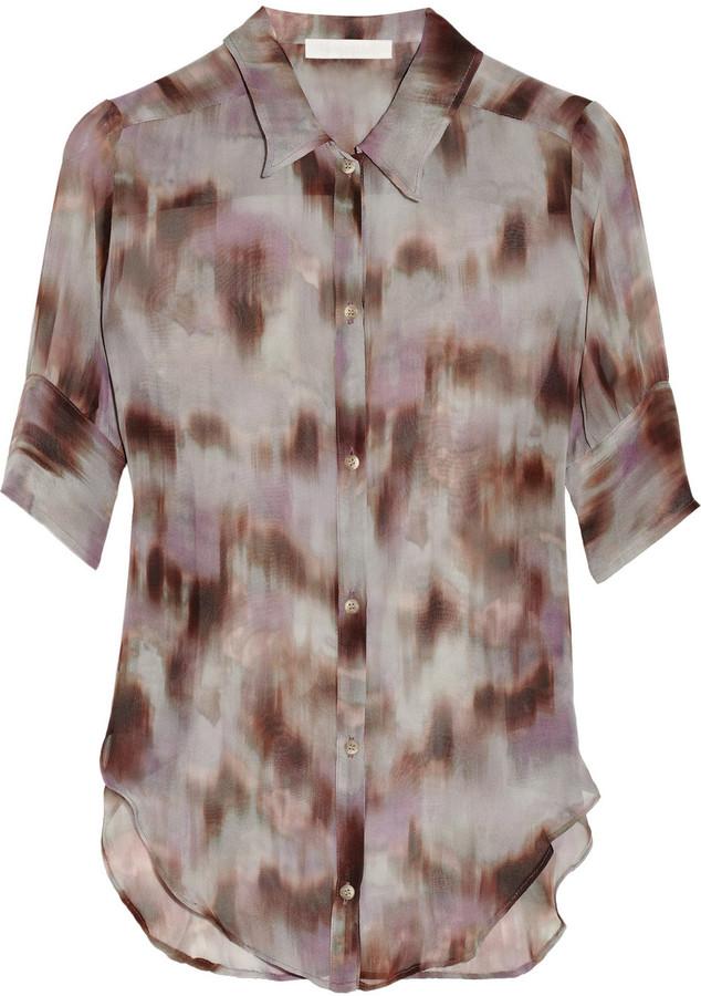 Kain Label Bernadette printed silk top