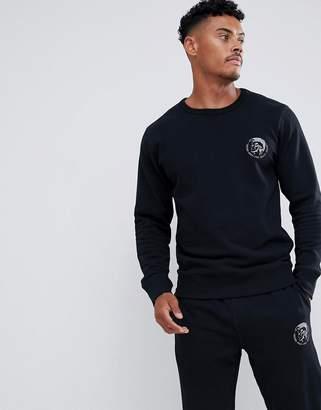 Diesel Sweatshirt With Logo In Black