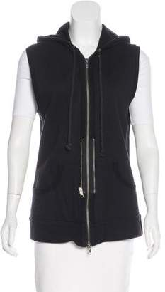 Elizabeth and James Zip-Up Hooded Vest