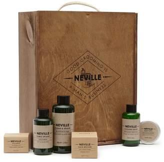 Reiss X Neville Hamper - Neville Grooming Hamper in White