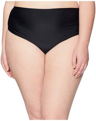 Unique Vintage Plus Size Daphne Ruched Bottom Women's Swimwear
