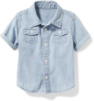 Chambray Shirt for Baby $14.94 thestylecure.com
