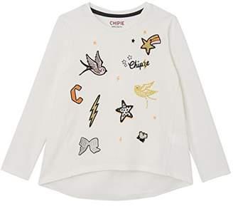 Chipie Girl's Elphege T-Shirt,(Manufacturer Size: 12A)