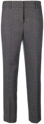 Incotex checked capri trousers