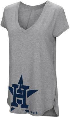 Under Armour Women's Houston Astros Pride Hem Graphic Tee