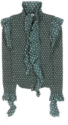Vetements Polka-dot printed shirt