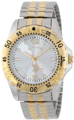U.S. Polo Assn. Classic Men's USC80052 Two-Tone Analogue Dial Expansion Watch