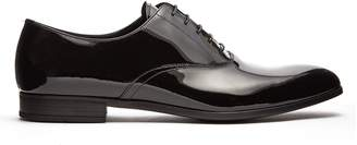 Prada Patent-leather derby shoes