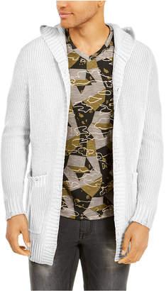 INC International Concepts Inc Men Hooded Cardigan