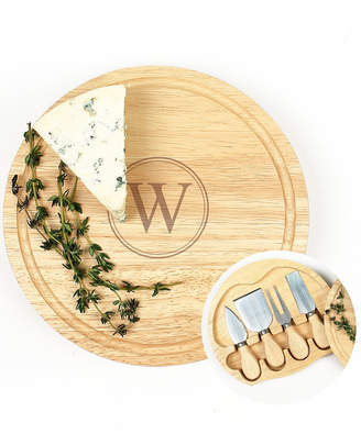 Cathy's Concepts Cathys Concepts Monogrammed 5Pc Cheeseboard Set 8In