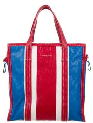 Balenciaga Bazar Shopper Leather Tote Red Bazar Shopper Leather Tote