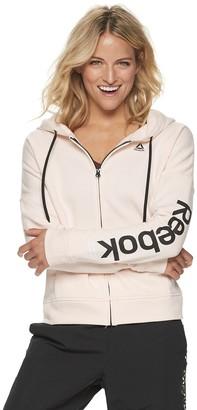 Reebok Women's Linear Logo Full Zip Hoodie