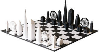 One Kings Lane London Chess Set - Black/White