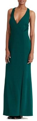 Women's Lauren Ralph Lauren Cutout Gown $194 thestylecure.com