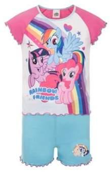 My Little Pony Toddler Girls Short Pyjamas 2-3 years