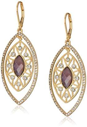 lonna & lilly Gold-Tone and Crystal Orbital Earrings