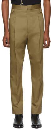 Haider Ackermann Tan Silene Classic Trousers