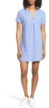 Women's Vineyard Vines Linen Blend Shirtdress $98 thestylecure.com