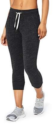 Core 10 Women's Plus Size Lightweight Cool Down 7/8 Crop Jogger Sweatpant