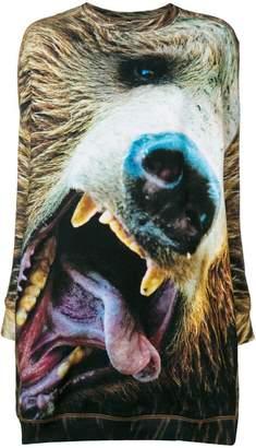 R 13 Bear Grunge sweater dress