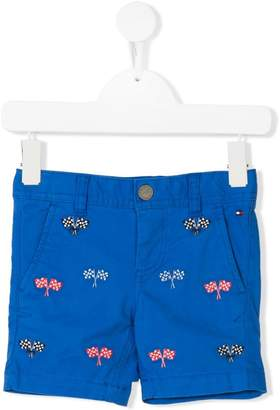 Tommy Hilfiger Junior flag embroidered chino shorts