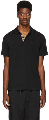 Burberry Black Hartford Polo