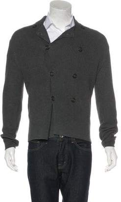 Brunello Cucinelli Double-Breasted Knit Cardigan
