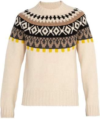 Maison Margiela Bohus-knit wool sweater