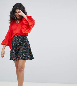 Weekday skater skirt with tapestry print