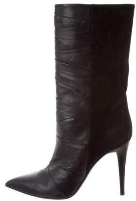 Narciso Rodriguez Leather Ankle Boots