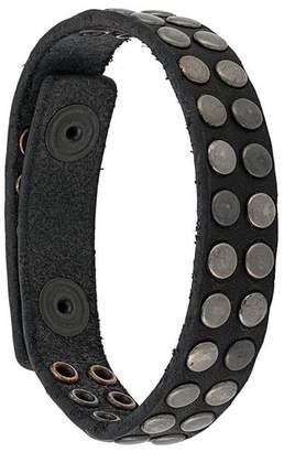 HTC Los Angeles studded double strap bracelet