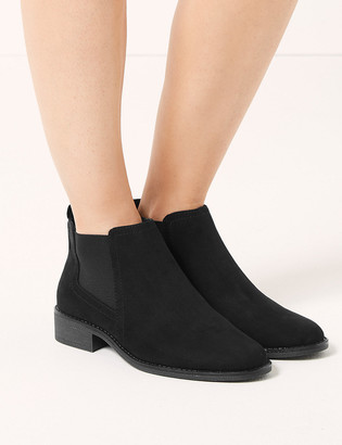 Marks and Spencer Wide Fit Chelsea Ankle Boots