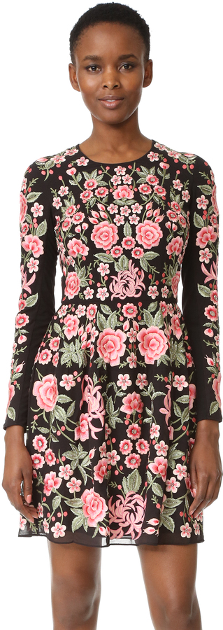 Needle & Thread Embroidery Rose Prom Dress