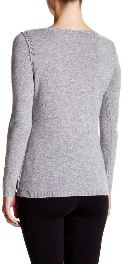 In Cashmere Cashmere Open-Stitch Pullover Sweater 31