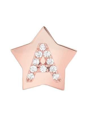 Mini Mini Jewels Star-Framed Diamond Initial Earring