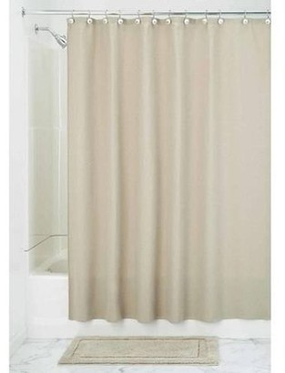 InterDesign York Hotel Fabric Cotton and Polyester Blend Shower Curtain
