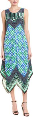 Nic+Zoe Silk-Blend Maxi Dress