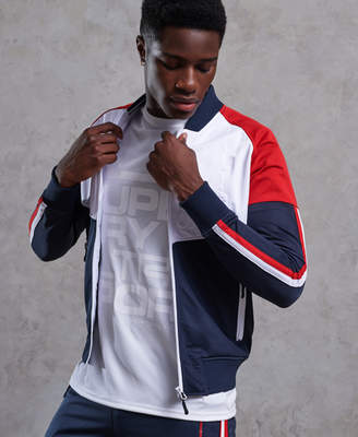 Superdry Tech Tricot Bomber Track Top