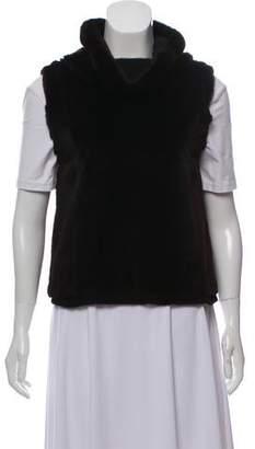 Gucci Sheared Mink Pullover Vest