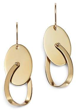 Bloomingdale's Oval Swing Earrings in 14K Yellow Gold - 100% Exclusive