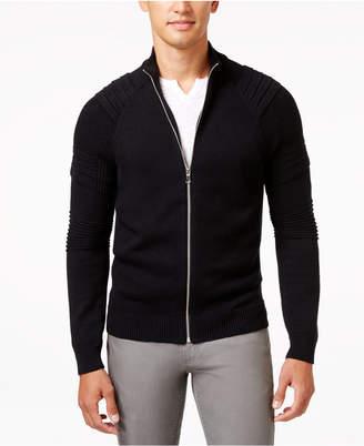 INC International Concepts I.n.c. Men's In the Dark Full-Zip Sweater