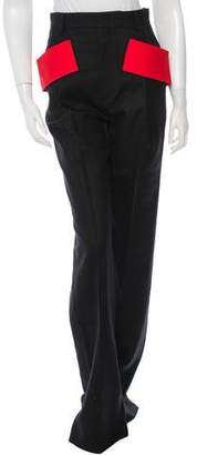 Givenchy Wool Wide-Leg Pants w/ Tags
