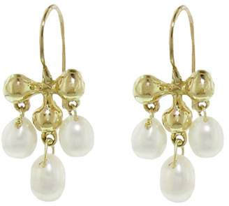 At Ylang 23 Ten Thousand Things Tiny Victorian Pearl Dangle Earrings