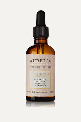 Aurelia Probiotic Skincare Cell Repair Night Oil, 50ml - Colorless