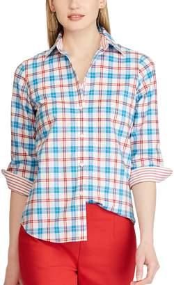 Chaps Petite No-Iron Shirt