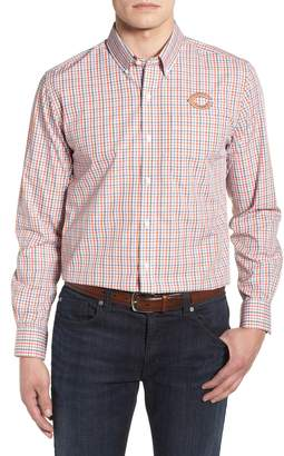 Cutter & Buck Chicago Bears - Gilman Regular Fit Plaid Sport Shirt