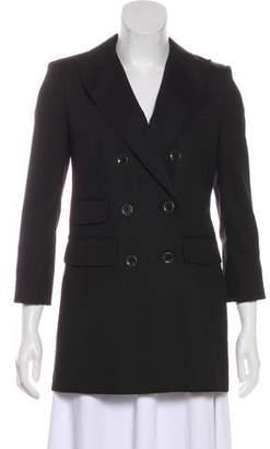 Rachel Zoe Double-Breasted Structured Coat