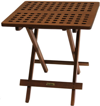 Outdoor Interiors Folding Side Table
